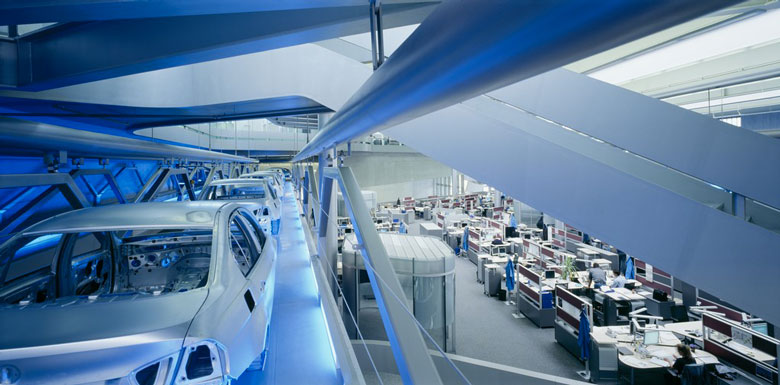 Bmw Central Building In Leipzig Germany By Zaha Hadid Architects