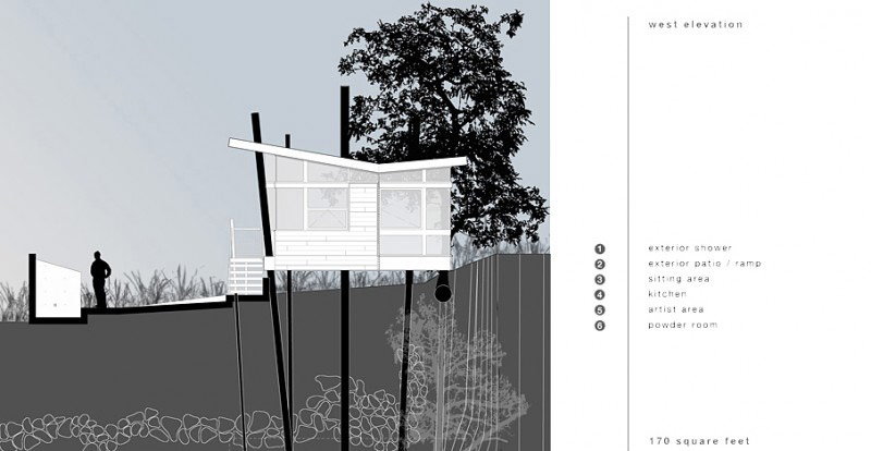 Floor plans of The Banyan Treehouse by Rockefeller Partners Architects