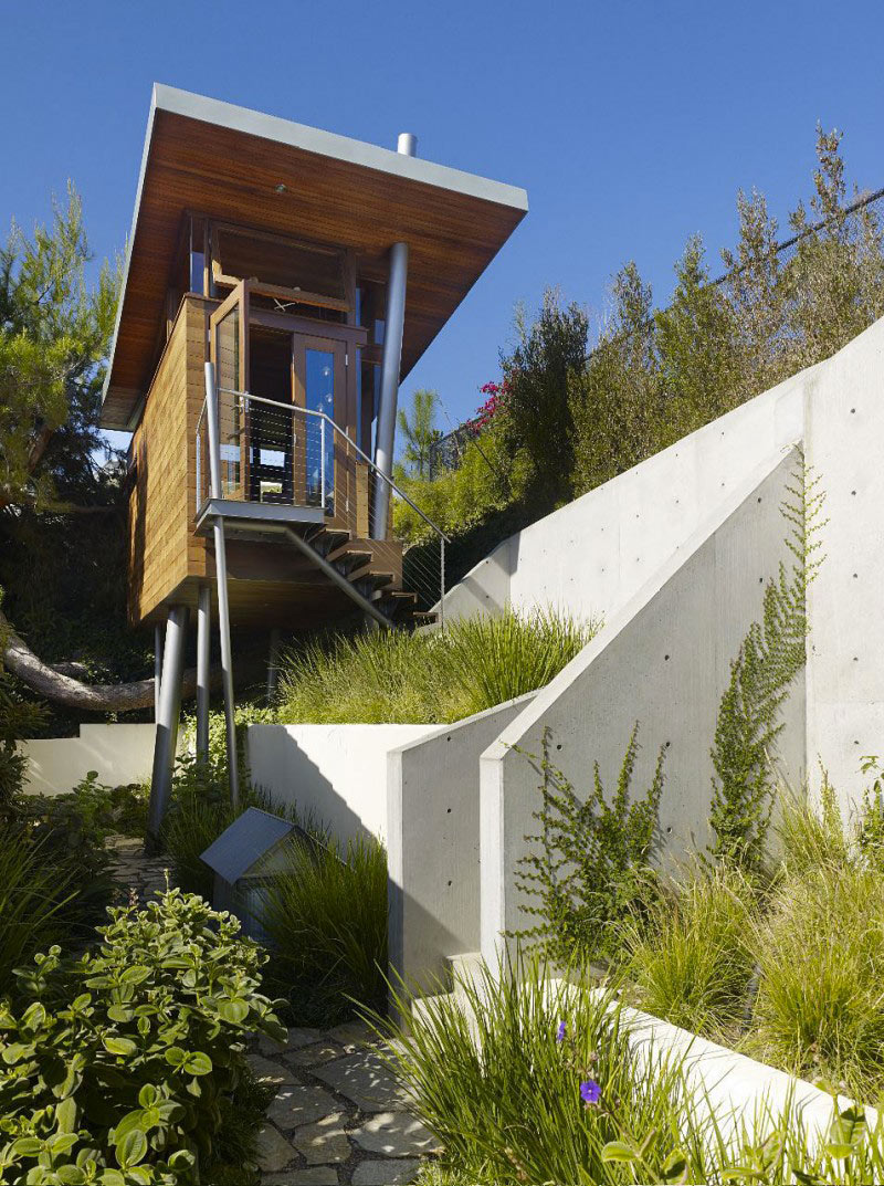 Exterior view of The Banyan Treehouse by Rockefeller Partners Architects
