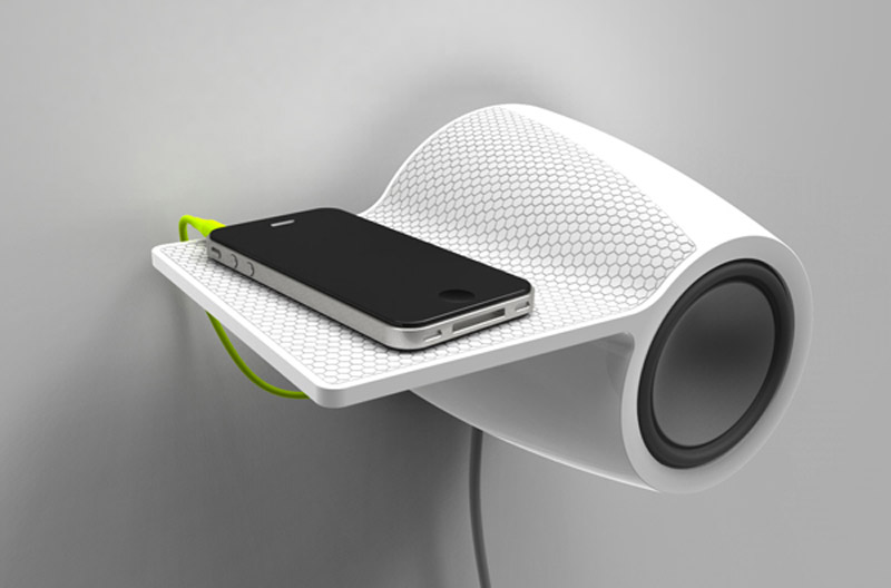 Db60 Wall Mounted Bluetooth Speaker By Dngroup Aps