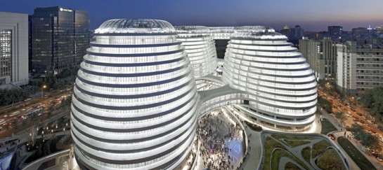 Galaxy SOHO Complex in Beijing by Zaha Hadid (VIDEO)