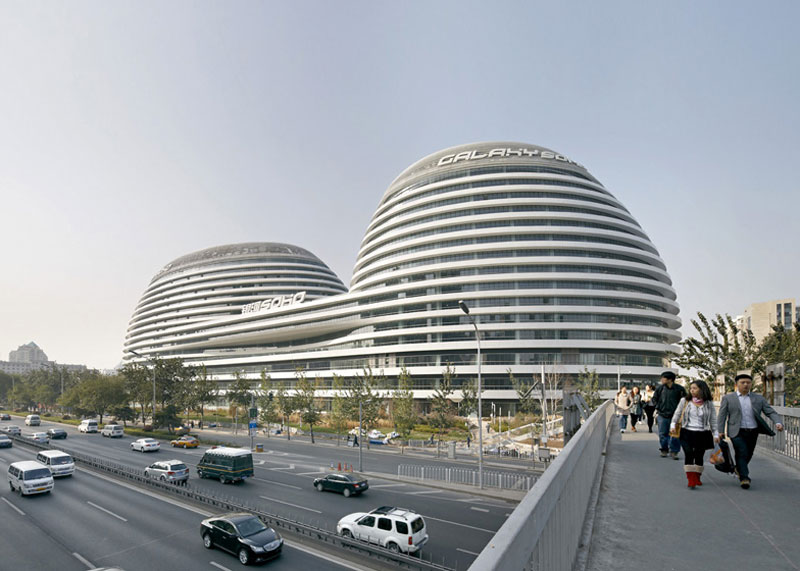 Galaxy Soho Complex In Beijing By Zaha Hadid Video
