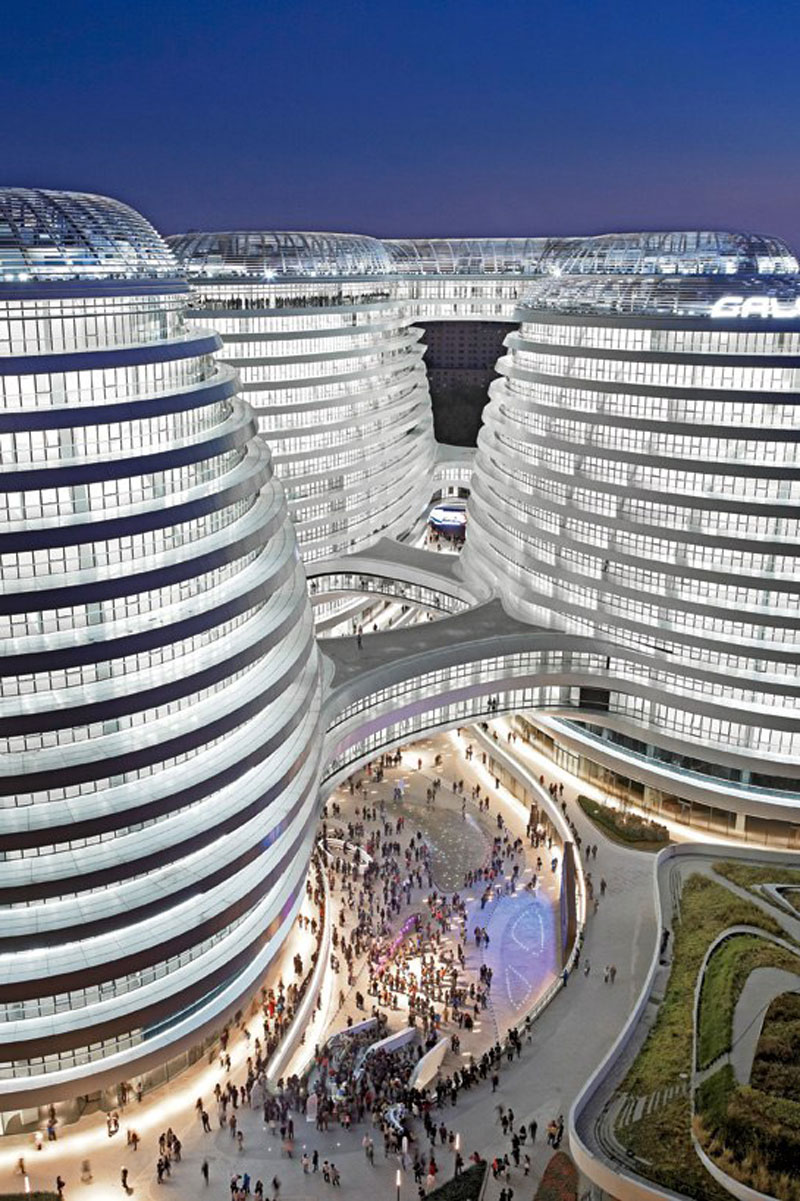 Bmw Mountain View >> Galaxy SOHO Complex in Beijing by Zaha Hadid (VIDEO) | Jebiga Design & Lifestyle