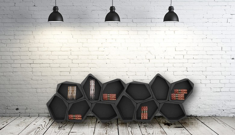 Jebiga BUILD Modular Shelving by Movisi