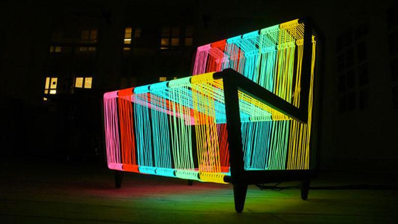 Jebiga Illuminated Disco Chair by Kiwi & Pom