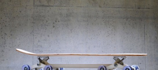 Stair-Rover Skateboard Longboard by Po-Chich Lai (VIDEO)
