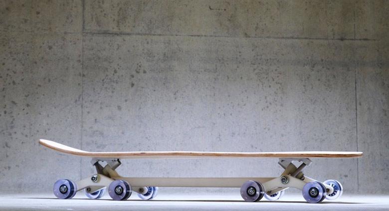Jebiga Stair Rover Skateboard Longboard by Po-Chich Lai