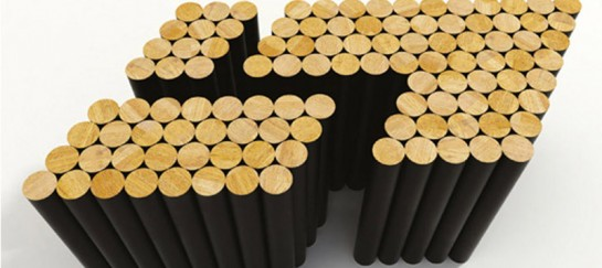 Multiple Table – Design Your Table with Magnetic Beech Poles (VIDEO)