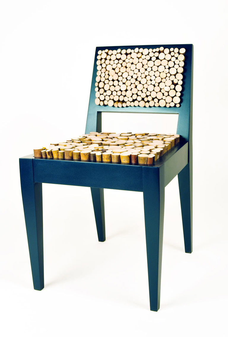 Cork material Squishy Chair by New Colony Furniture