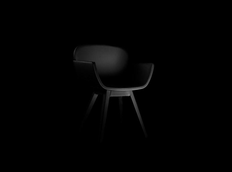 Black Suri Chair by Pedro Gomes