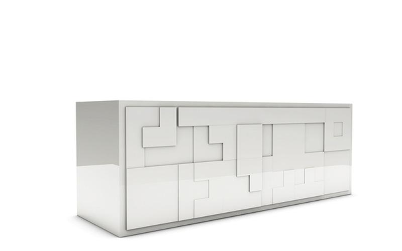 White Tatris Furniture by Pedro Machado