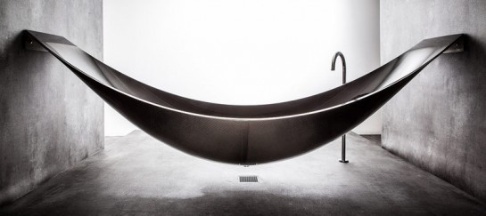 VESSEL HAMMOCK BATHTUB | BY SPLINTER WORKS