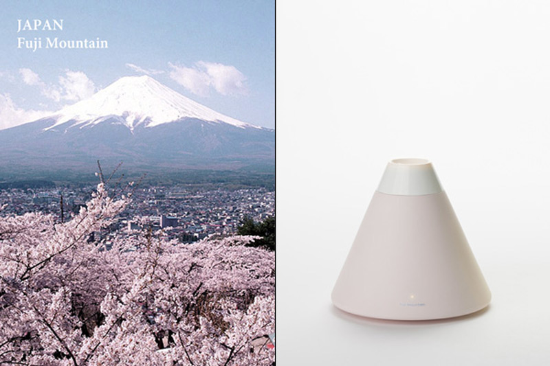 Japan, Fuji Mountain Volcano Humidifier