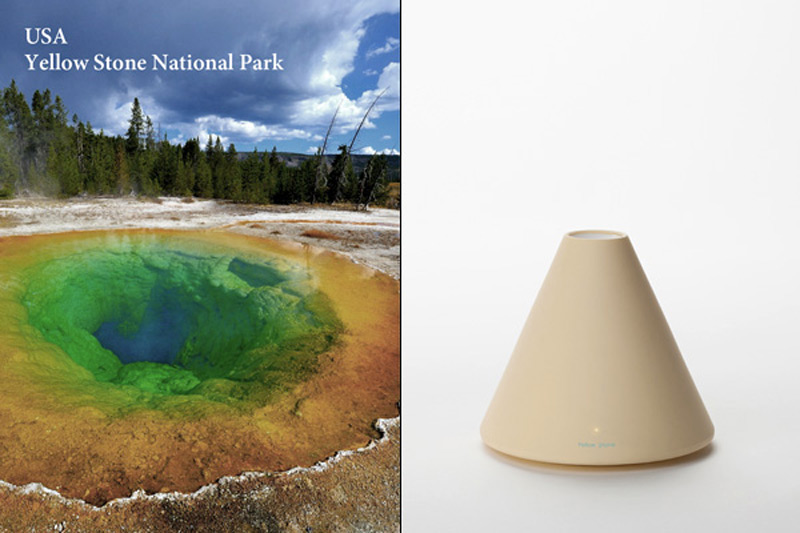 Yellow Stone National Park Volcano Humidifier