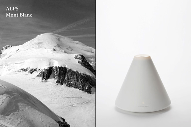 Mont-Blanc Volcano Humidifier