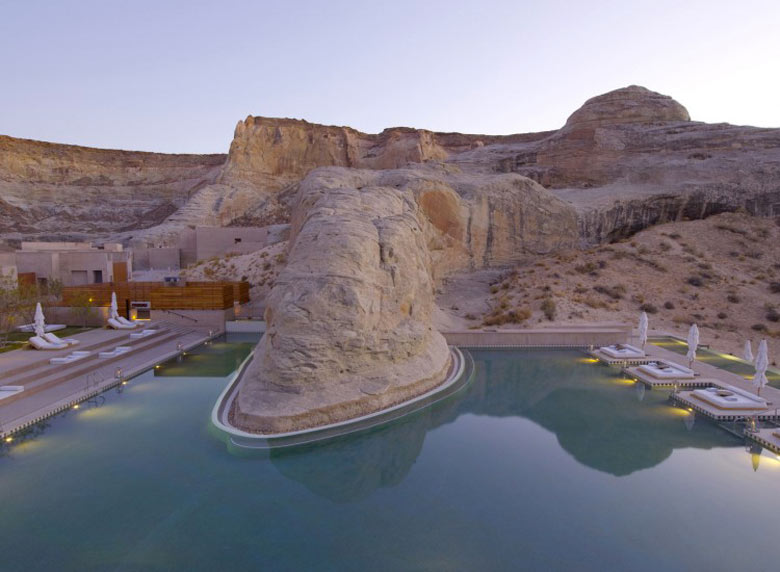 Oasis at the Amangiri Luxury Hotel Resort in Canyon Point Utah