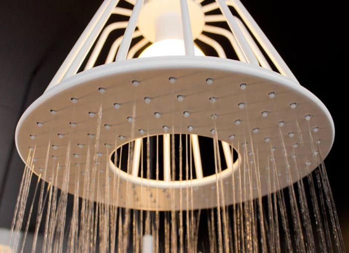 Axor Waterdream Shower Head by Nendo