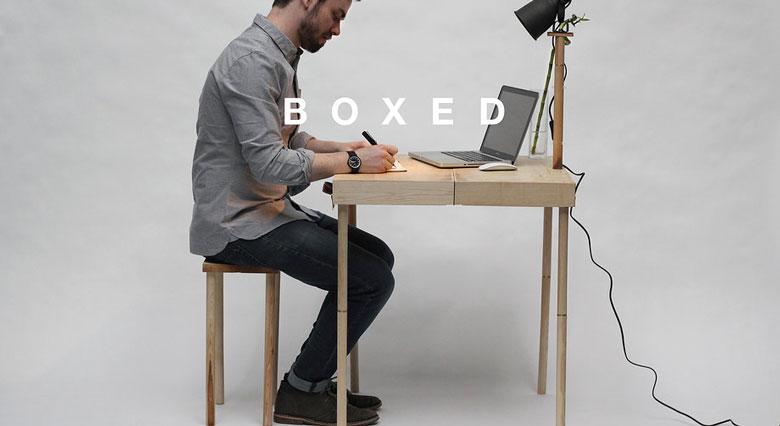 BOXED Multi Functional Furniture by Tyrone Stoddart Jebiga