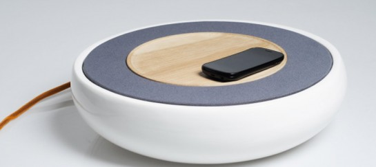 Ceramic Speaker for Smartphones by Victor Johansson (VIDEO)
