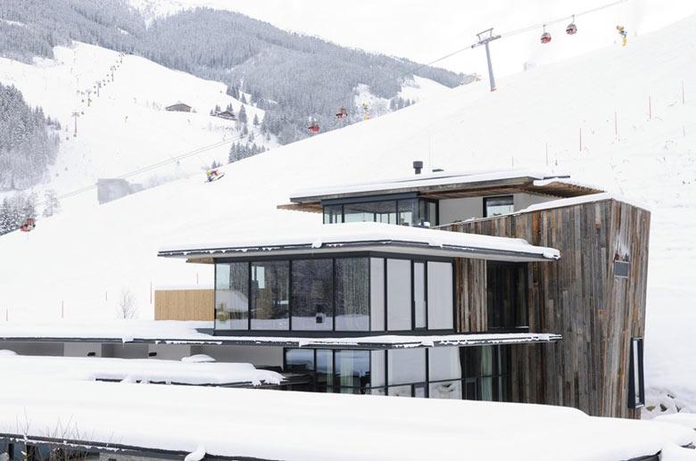 Architecture of the Hotel Wiesergut in Hinterglemm Austria by Gogl Architekten