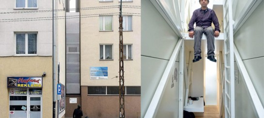 Keret House – World's Narrowest Home Located in Warsaw