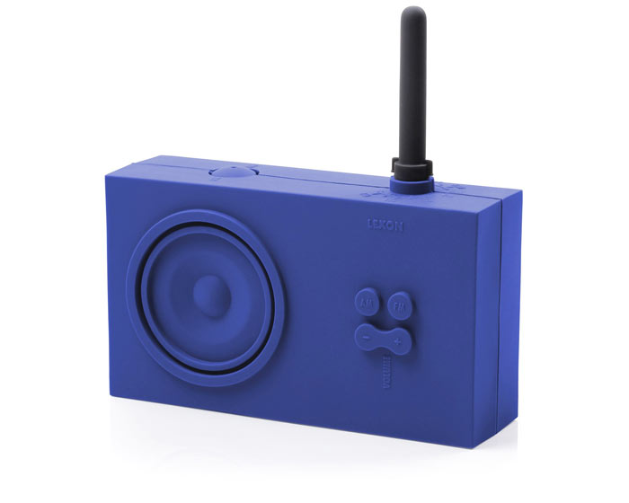 Blue Lexon Tykho Spash Shock Proof Radio