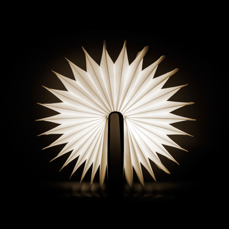 Fully opened Lumio LED Book Lamp