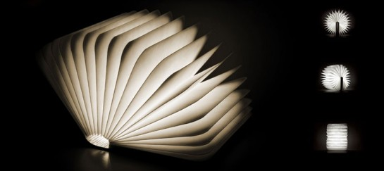 LUMIO LED UNFOLDING BOOK LAMP (VIDEO)