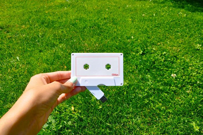 Milktape Mixtape USB Cassette