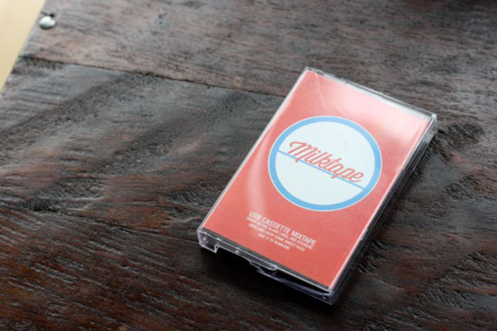 Milktape Mixtape USB Cassette case