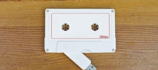 MILKTAPE MIXTAPE | USB EQUIPPED CASSETTE