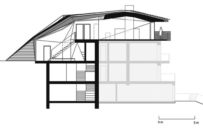 Floor plan of the Paramount Alma Residence by Plasma Studio
