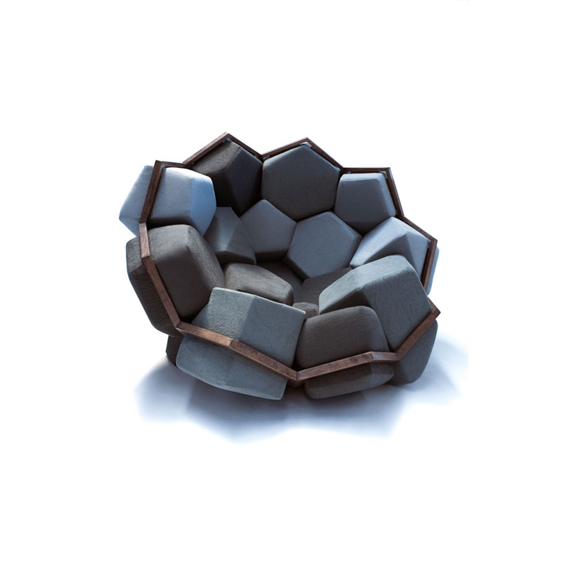 Quartz Armchair by CTRL ZAK and Davide Barzaghi 4