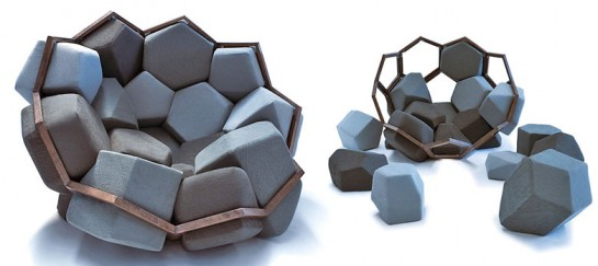 Quartz Armchair by CTRL ZAK and Davide Barzaghi