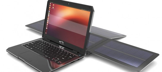 SOL | SOLAR POWERED LAPTOP