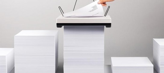 'Stack' | Trayless Inkjet printer by Mugi Yamamoto