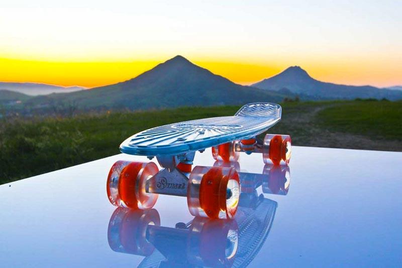 Sunset Skateboards LED Light Skateboard