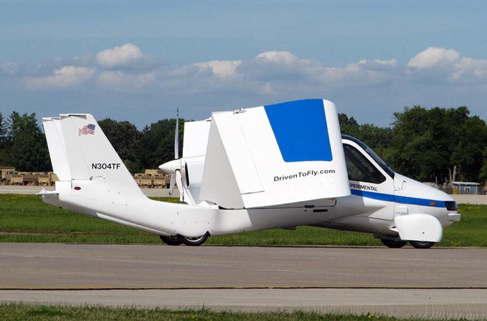 Terrafugia Transition Flying Car ready for takeoff