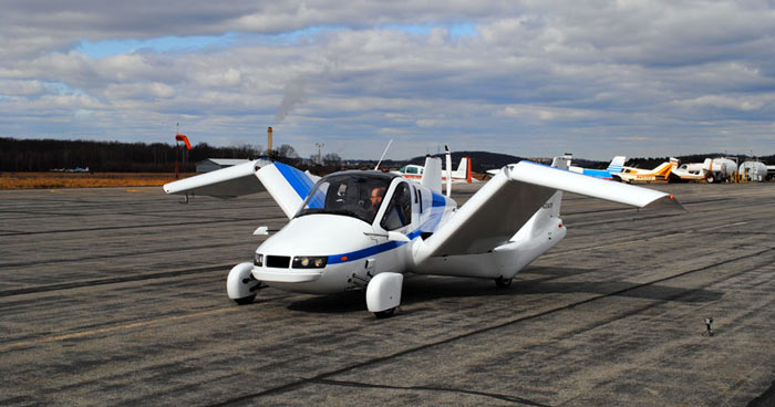 Terrafugia Transition Flying Car on Jebiga