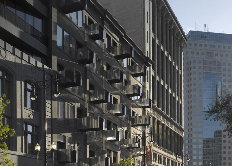 Exterior view of the Architecture at The Avenue On Portage by 5468796 Architecture