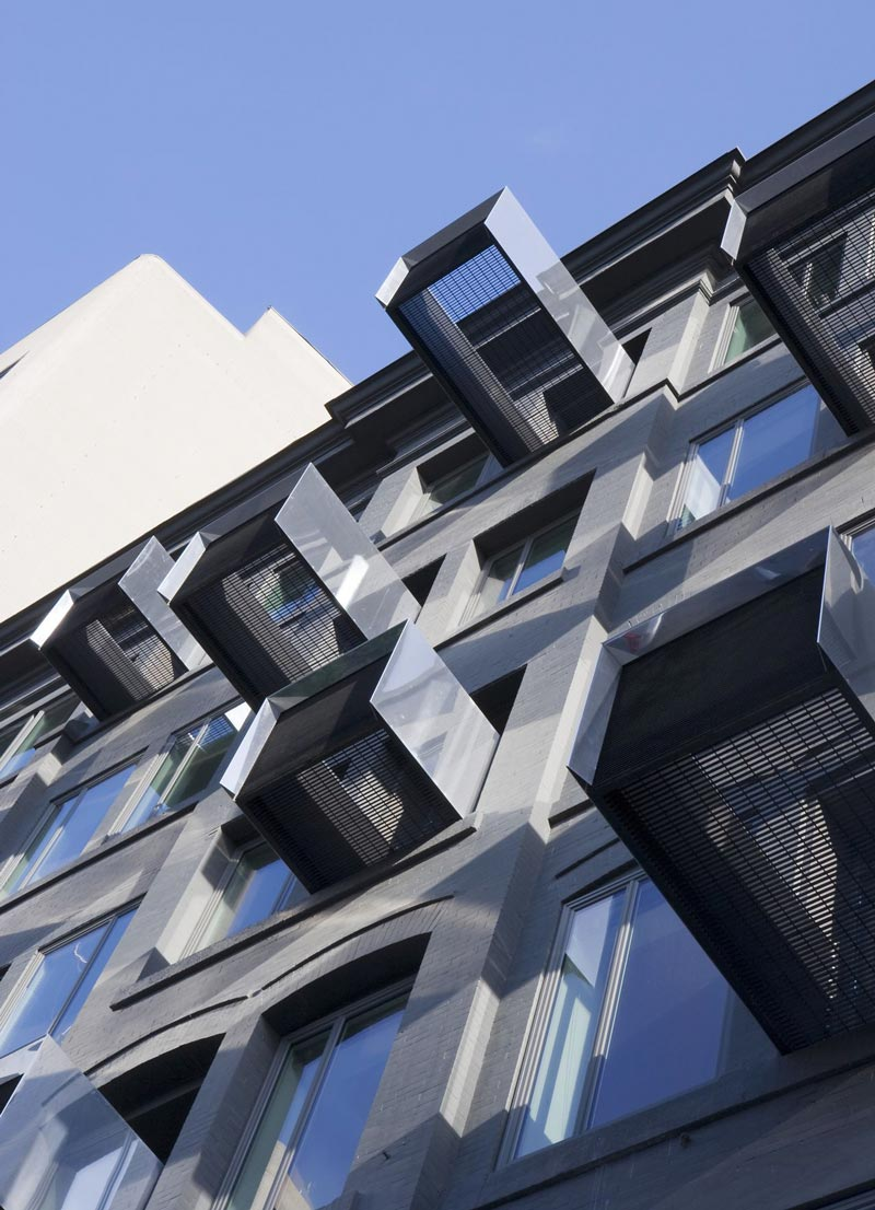 Balconies at The Avenue On Portage by 5468796 Architecture