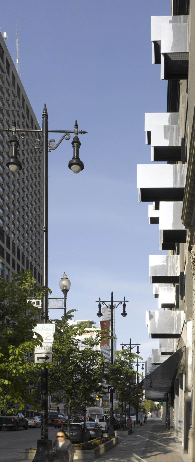 Side view of the architecture at The Avenue On Portage by 5468796 Architecture