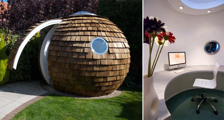 The Pod Garden Office By Archipod