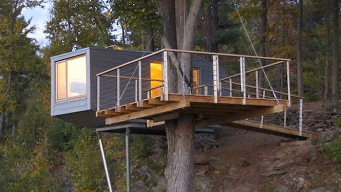 Baumraum Treehouse in New York on Jebiga