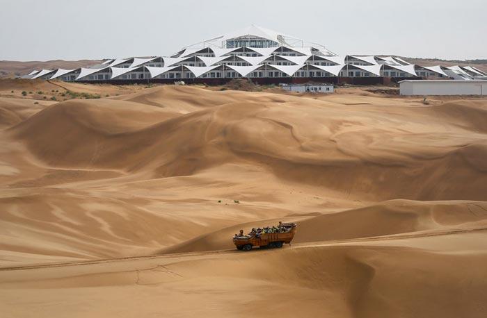Desert Lotus Resort in Mongolia in the Gobi Desert