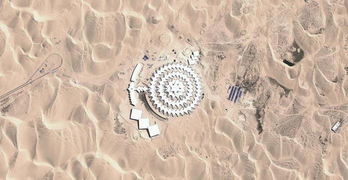 Desert Lotus Resort in Mongolia in the Gobi Desert on Jebiga