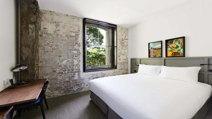 Instagram Hotel - 1888 Hotel in Sydney bedroom design