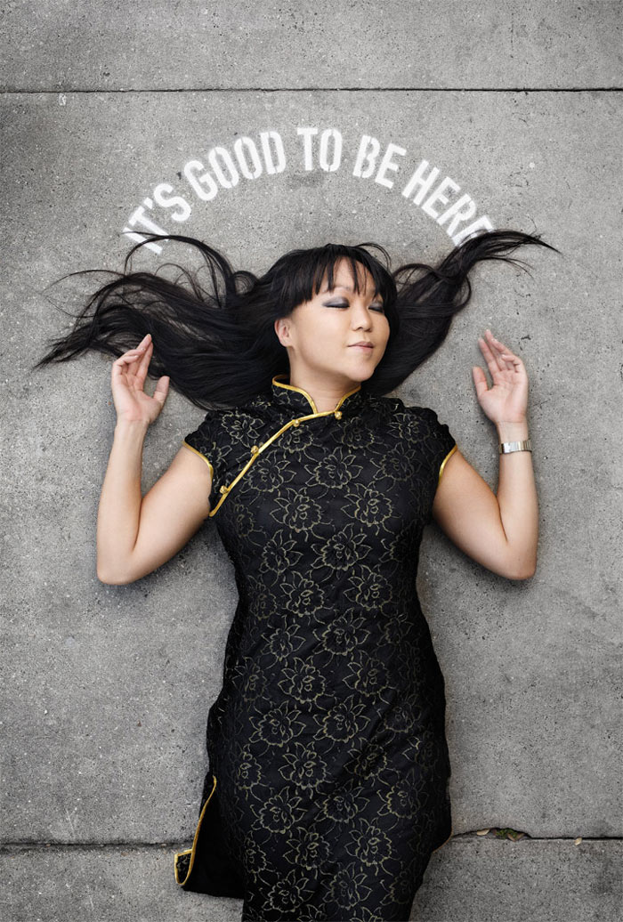 It's Good to be Here by Candy Chang