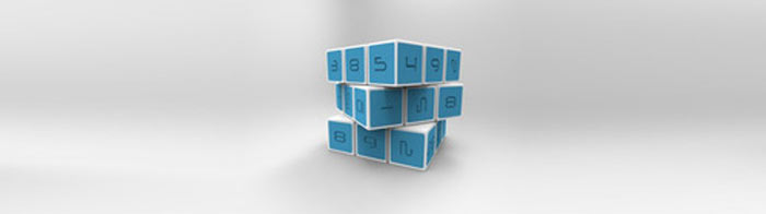 Blue Magic Cube by Innovation LLC