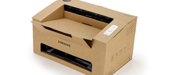 Origami – Samsung Foldable Cardboard Laser Printer